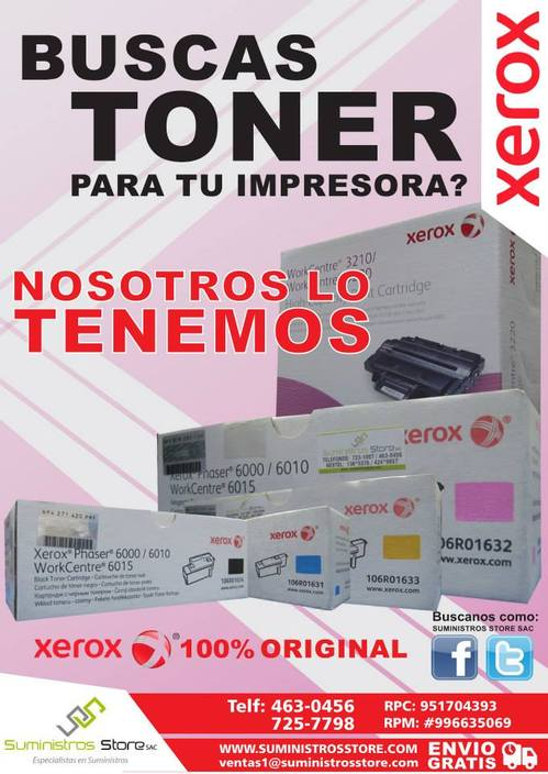TONER PHASER 6180 113R00719- 113R00720- 113R00721 -113R00722