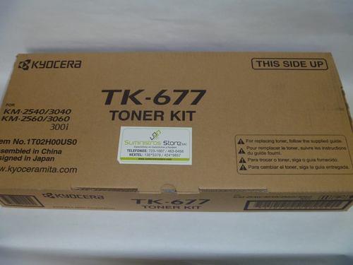 TONER KYOCERA TK-677 KM2540-KM3060