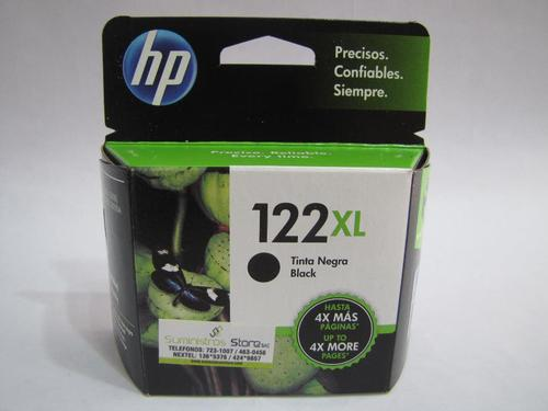 Original HP 122xl black ink