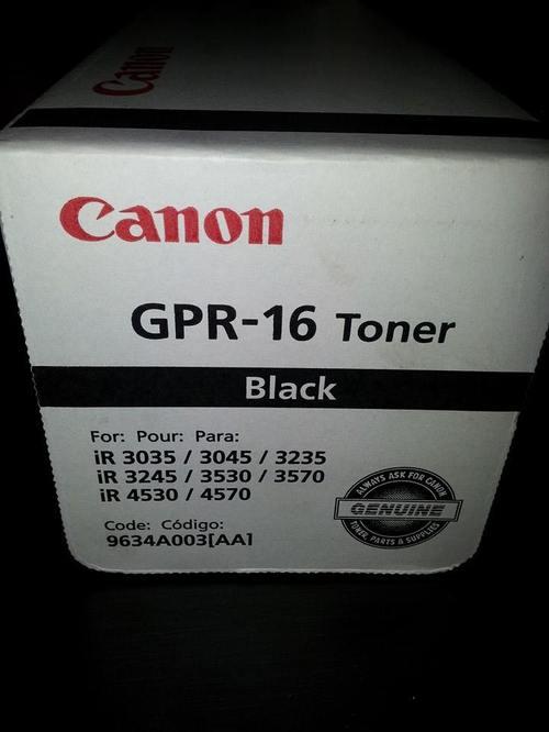Toner Canon GPR-16 IR3530 - IR3570 -IR3035