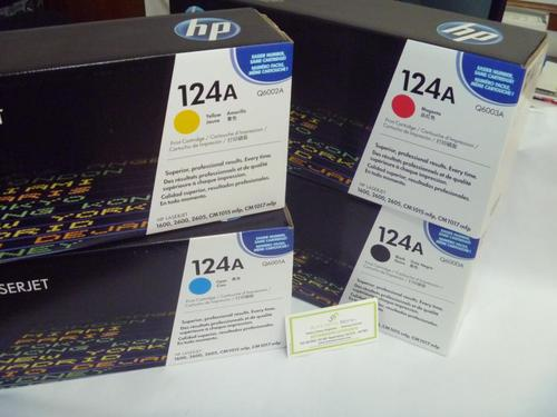 Toner HP originales Q6000 - q6001 q6002 q6003