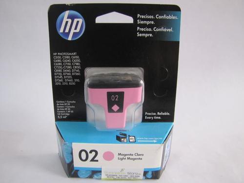 Tintas HP original N02