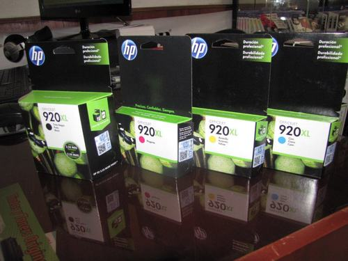 HP 920XL black ink shipments to all lima