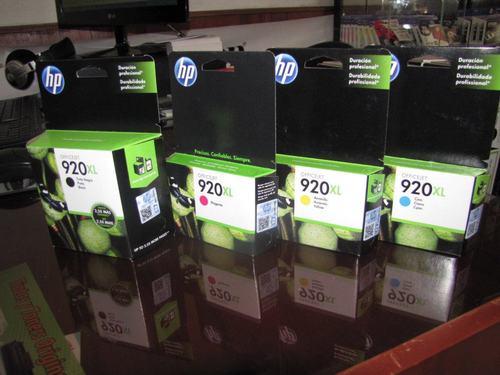 Tintas HP 920xl negro envios a todo lima