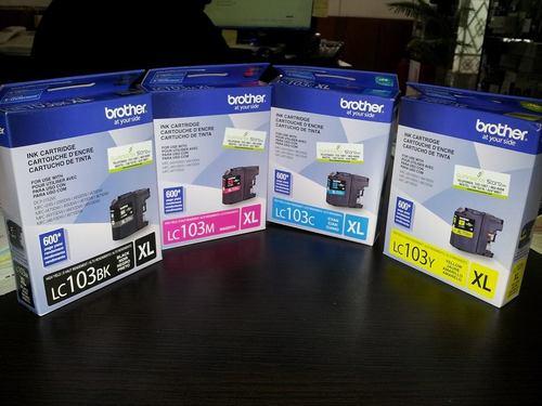 Tintas Brother LC-103 MFCj4310-J4510-J6720