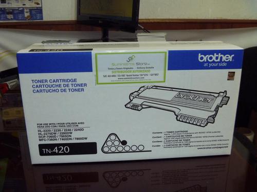 Toner Brother original TN-420 HL-2240-HL2270- MFC-7240 MFC7860