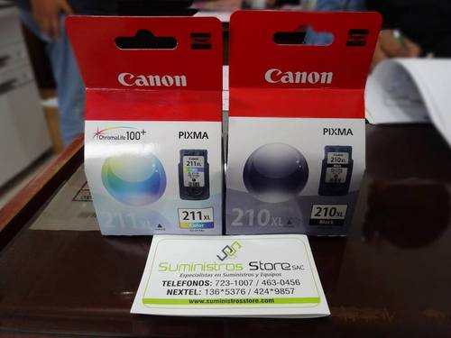 Tintas Canon original 210xl envio gratuito