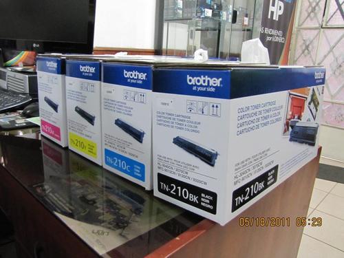 Toner brother original TN210BK HL3040- HL3070 - MFC9120