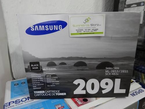 Toner samsung 209L SCX4824 originales