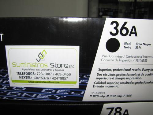 Toner HP CB436A M1120 mpf M1522 P1505