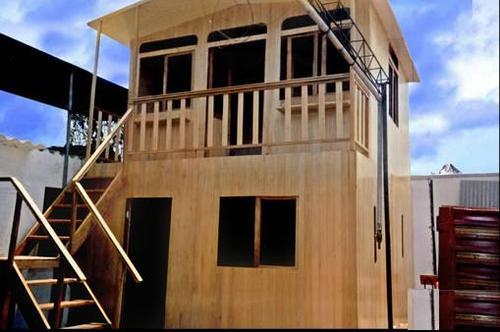 casa pre fabricada de dos pisos ideal para el hogar
