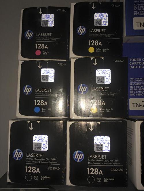 Toner HP 128a original delivery a todo lima todos los colores CE-320a