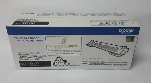 Toner brother TN-1060 original para HL-1110/1212 y DCP 1512