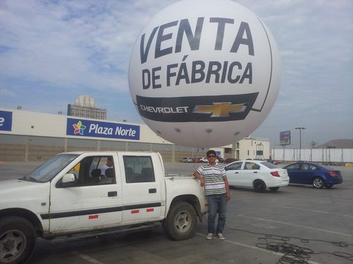 Inflable Aéreo ( Esfera )