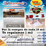 Promocion Ferial Pisos Flotantes y Cielos Falsos