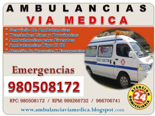 Servicio de Ambulancias Via Medica