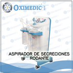 Aspirador de secreciones rodable