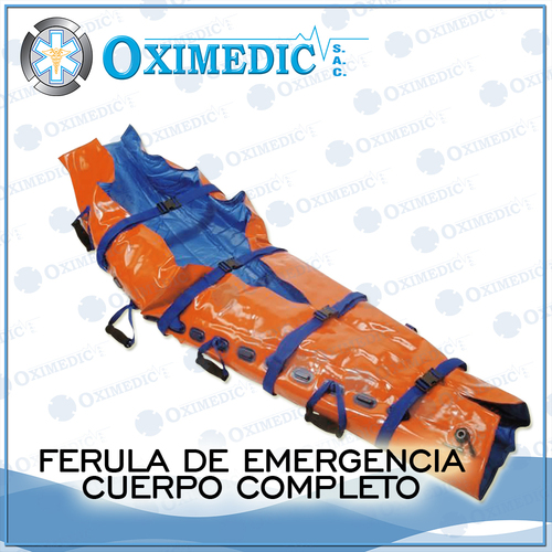 Férula de emergencia cuerpo completo
