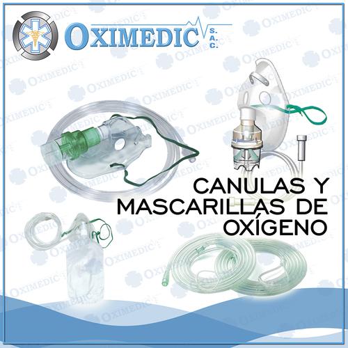 Canulas y mascarillas de oxigeno