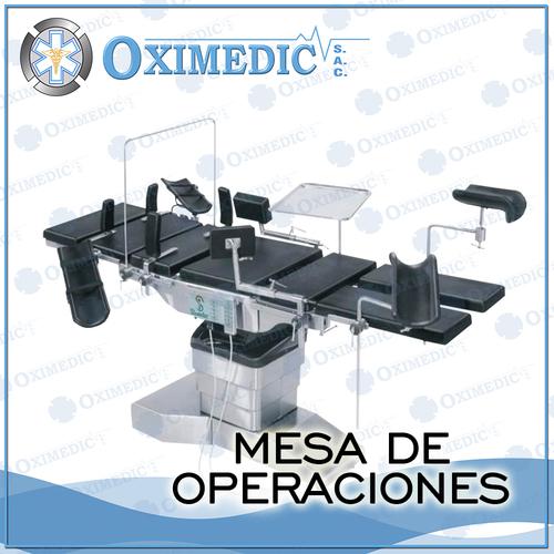 mesa de operaciones