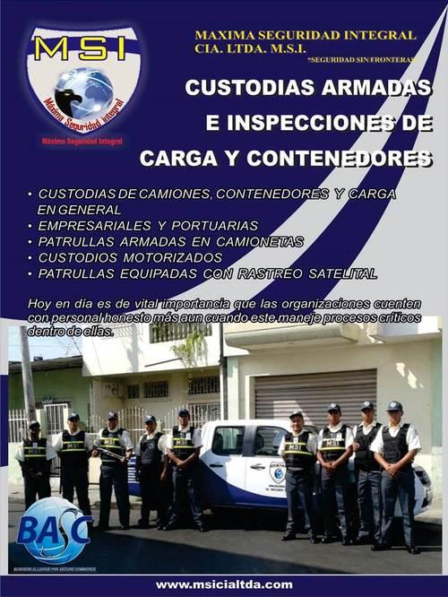 CUSTODIAS ARMADAS MSI