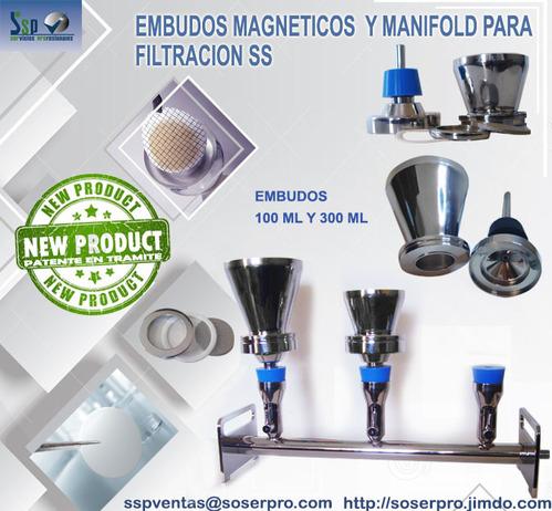 EMBUDOS MAGNÉTICOS EN ACERO INOXIDABLE