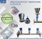 MANIFOLD (RAMPLA) DE 3 PLAZAS DE ACERO INOXIDABLE