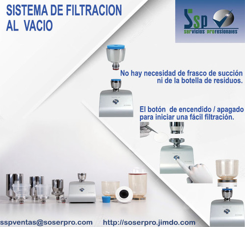 WaterVac100 vacuum filtration System