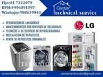 SERVICIO TECNICO LG 996091097 refrigeracion y lavadoras Lima
