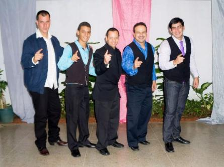 Tanzgruppe Caribeños in Maracaibo