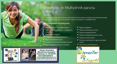 Llenate de Energia con Multydrink