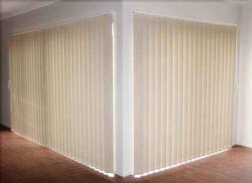 Vertical blinds of pvc