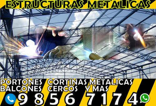 FABRICACION DE PORTONES Y ESTRUCTURAS METALICAS EN TEGUCIGALPA