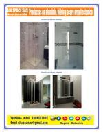 Divisões para banheiros em vidro