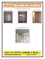 portas de alumínio e vidro