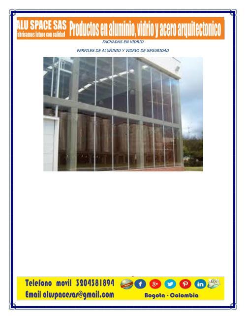 fachadas de vidro de segurança