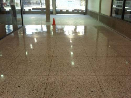 acrylic application terrazzo floors and granite