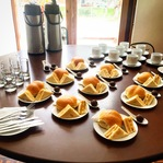 Mesa de coffe break