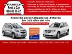 Family rent a car Uruguay