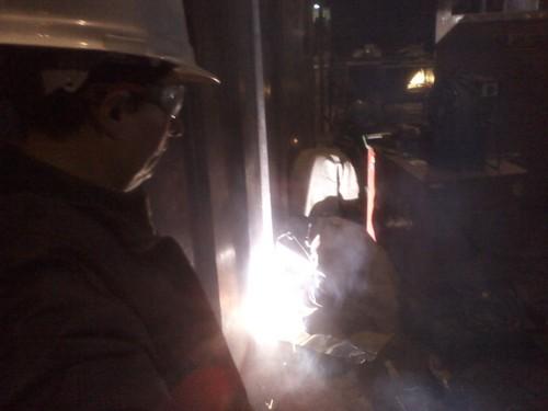 Visita Tecnica y Pruebas de Soldadura Electrica en Planta Industrial