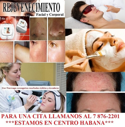 Salon de Estetica en Centro Habana, telefono 7 876-2201