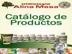 Iridiologia Alina Mesa Inc