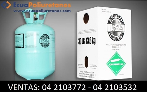 Gases Refrigerantes 134A Guayaquil