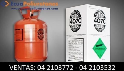Gases Refrigerantes 407C Guayaquil