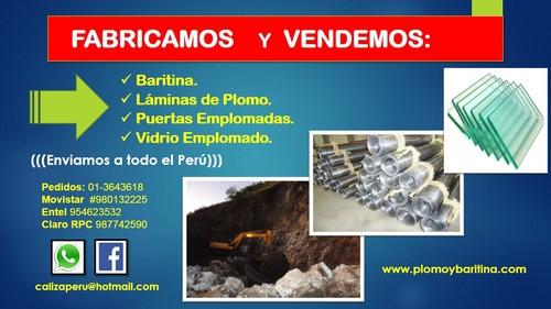 Vendemos Baritina para ambientación de Rayos
