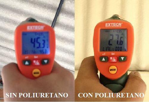Poliuretano Spray Proyectado Aislamiento Térmico y Acústico Guayaqui