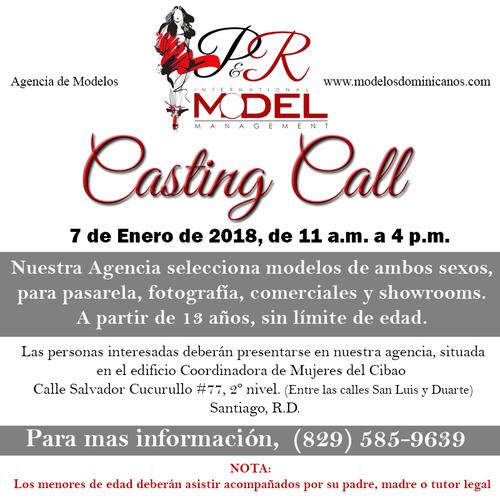 Casting Call 7 de Enero