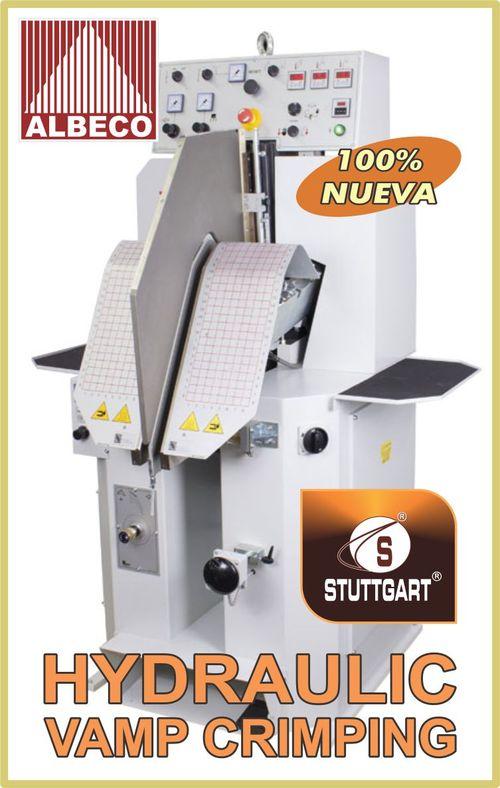 CAMBRADORA HIDRÁULICA DE BOTAS STUTTGART ST- 9000