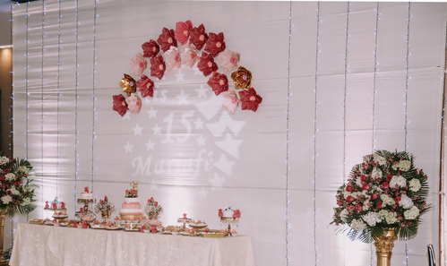 local de recepciones y eventos familiares