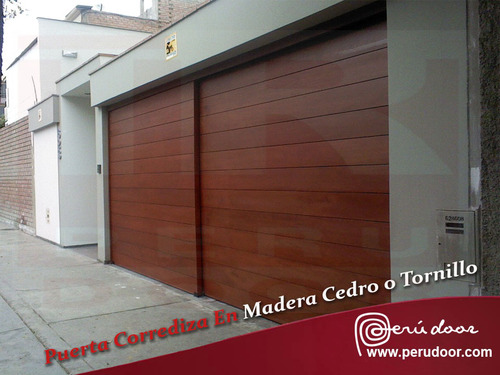 sliding garage doors peru door
